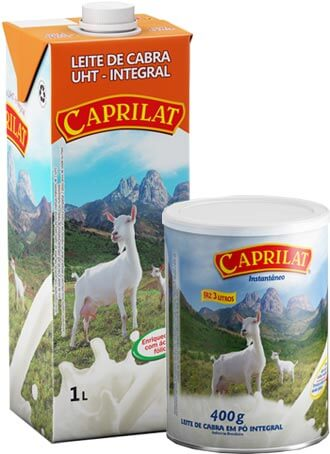 Leite de cabra Caprilat