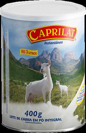 Integral Instantâneo Leite de cabra em pó 400g