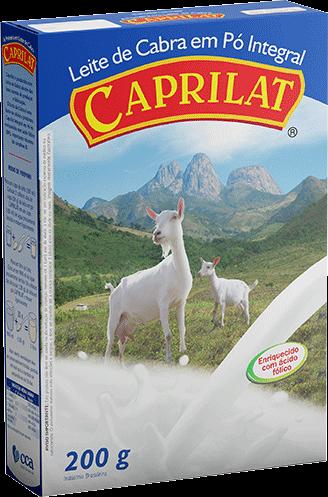 Integral Leite de cabra em pó 200g